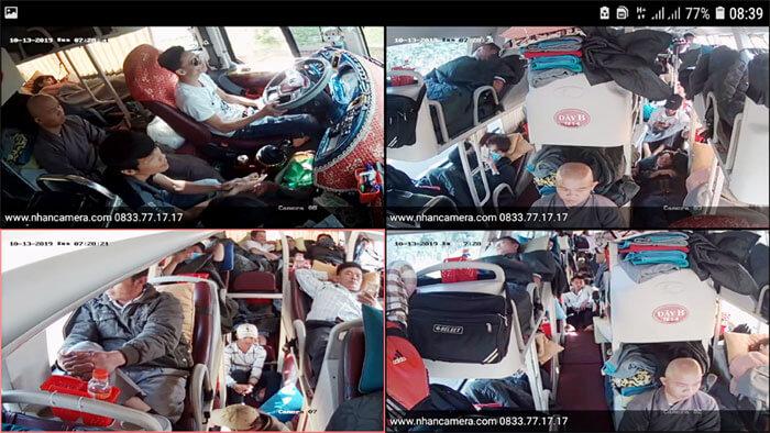 Lắp camera cho xe khách ở daklak