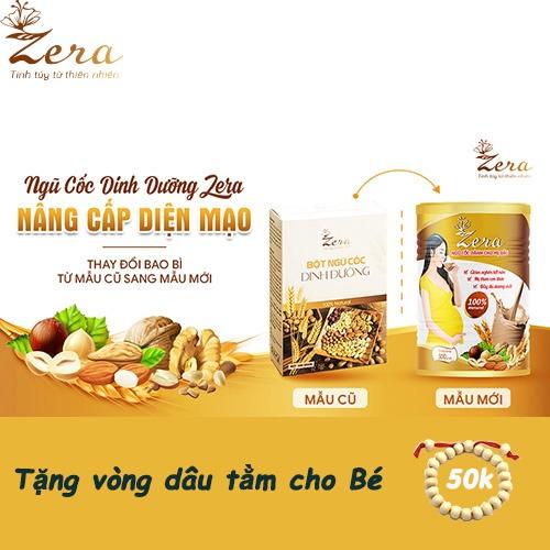 Ngũ cốc dinh dưỡng Zera bao bì mới